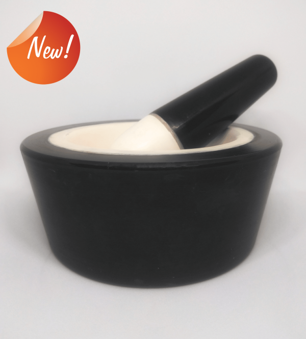 alumina mortar and pestle