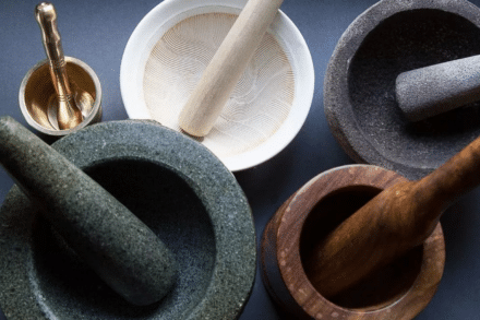 How to Clean Mortar and pestle